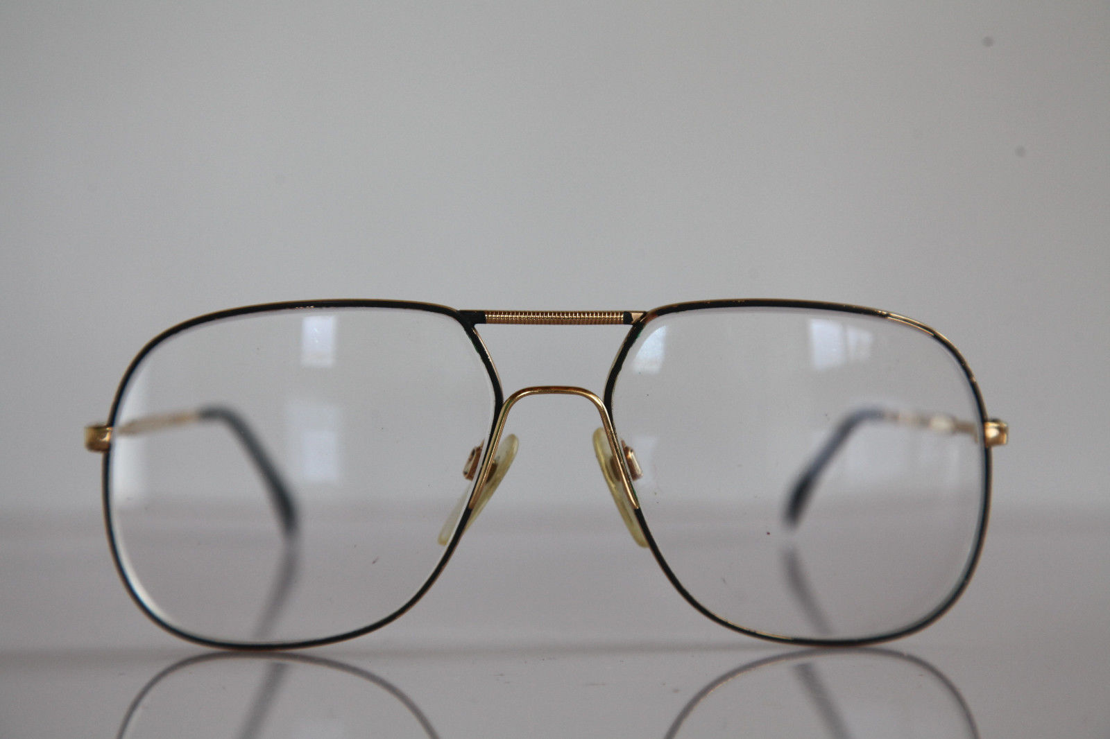 Vintage SILHOUETTE Eyewear, Gold Frame,  RX-Able Lenses Prescription. Austria 2