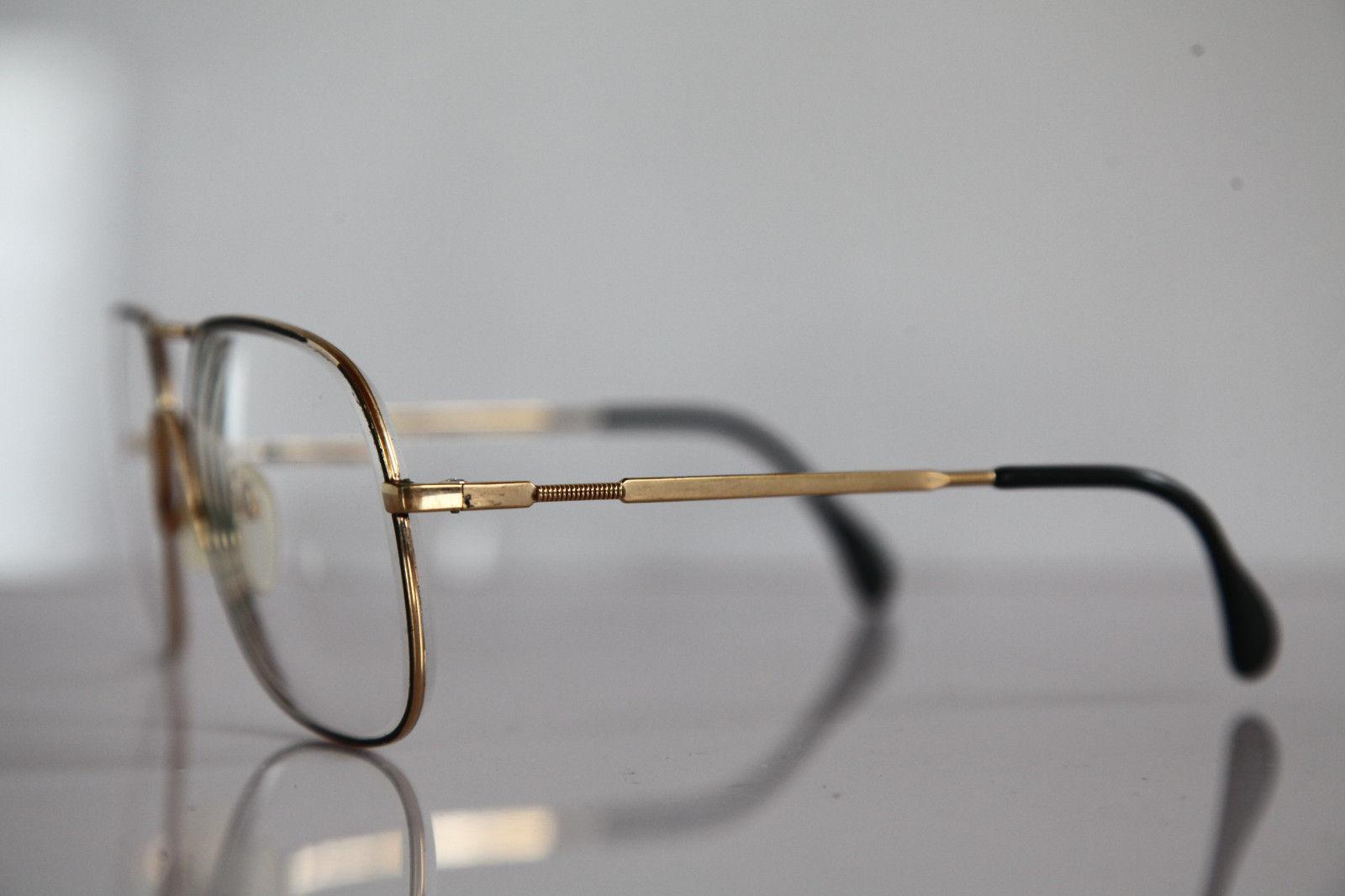 Vintage SILHOUETTE Eyewear, Gold Frame,  RX-Able Lenses Prescription. Austria 2