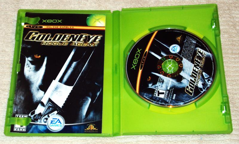 Goldeneye Rogue Agent (Microsoft Xbox, 2004)  image 2