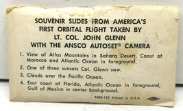 4pc V.Rare Lt. Col. John Glenn Ansco Camera First Orbital Flight Views U... - $42.06