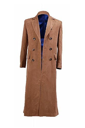 Primary image for Doctor Who Cosplay Costume Dr Brown Trench Coat New Version By CharmingCoco