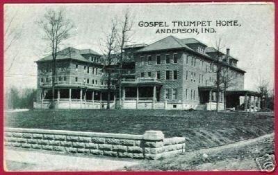 Anderson IN Gospel Trumpet Home Postcard BJs