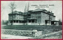 Anderson IN Gospel Trumpet Home Postcard BJs - $6.00