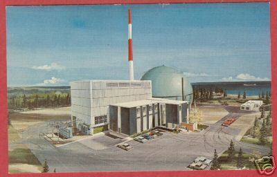 Charlevoix Mi Big Rock Point Nuclear Plant Postcard BJs