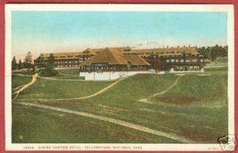Grand Canyon Hotel Yellowstone Nat'l Park Wyoming 1934 - $5.50
