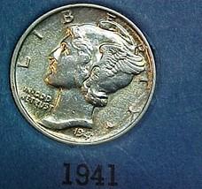 Mercury Dime 1941 U - $7.04