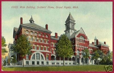 Primary image for GRAND RAPIDS MICHIGAN Soldiers Home Main Bldg 1912 MI