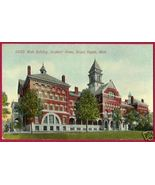 GRAND RAPIDS MICHIGAN Soldiers Home Main Bldg 1912 MI - $5.50