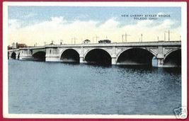 Toledo Ohio New Cherry Street Bridge Oh - $5.00