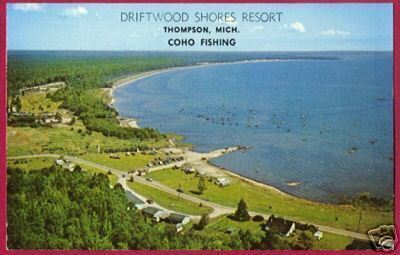 Primary image for THOMPSON MICHIGAN Lake Driftwood Shores Resort US2 MI