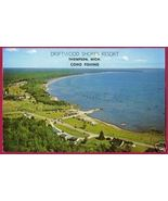 THOMPSON MICHIGAN Lake Driftwood Shores Resort US2 MI - $5.50