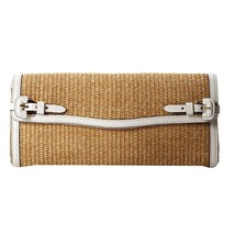 Lauren Ralph Lauren Gipson Clutch in Natural/WH NWT 4311959697J6 - $130.06 CAD