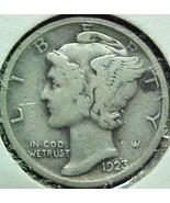 Mercury Dime 1923 Fine - $4.84