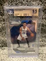 2016-17 Panini Prizm #1 Ben Simmons Philadelphia 76ers RC Rookie BGS 9.5 - $278.00