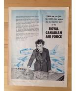 ROYAL CANADIAN AIR FORCE - Vintage Ad - Canada Airplane Women RCAF 1953 - $10.69
