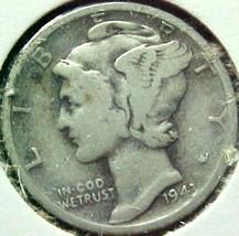 Mercury Dime 1943-D G - $4.87