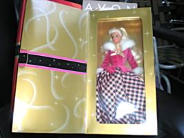 Barbie Doll - Avon Exclusive Winter  Rhapsody Barbie (Second In A Series) - $19.95