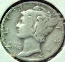Mercury Dime 1944-D VG - $4.84