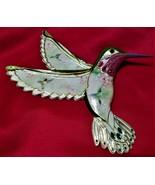 Lena Liu's Jewels of the garden 1st Issue Hummingbird 2005 Ruby Elegance LE - $19.00