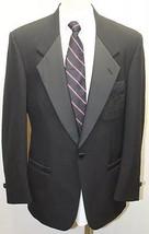 NIcole Miller Tuxedo Blazer Men 40R Classic Nicole Miller Print Lining U... - $56.09