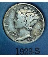 Mercury Dime 1929-S VG - $11.50