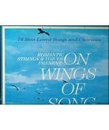 ON WINGS OF SONGS * 74 BEST LOVED SONGS * READERS DIGEST SIX RECORDS BOX - $14.99