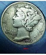 Mercury Dime 1942/1 VF - $468.04