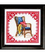 Back Porch Sittin cross stitch chart Bobbie G Designs - $6.30