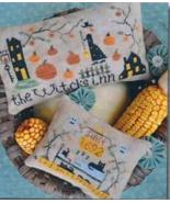 Witch's Inn cross stitch chart Barbara Ana Designs - $10.80