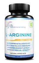 Lunva L-Arginine Heart Health 60 Caps Helps Improve Blood Flow and Energ... - $19.95
