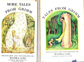 2 Books-Tales From Grimm & More Tales from Grimm Translated & Ill.By Wan... - $9.95