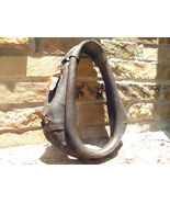 OLD Leather Horse Collar with buckles 1346 bz - $139.98