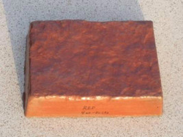 415-05 Red Concrete Cement Powder Color 5 Lbs. Makes Stones Pavers Tiles Bricks image 2