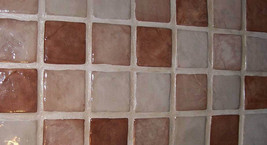 "4""x4"" Slate Texture Floor Wall Paver Tile Molds (12) Cobblestone, Walls, Counter image 4"