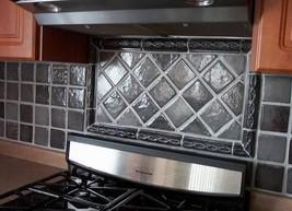 "4""x4"" Slate Texture Floor Wall Paver Tile Molds (12) Cobblestone, Walls, Counter image 3"