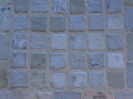 "4""x4"" Slate Texture Floor Wall Paver Tile Molds (12) Cobblestone, Walls, Counter image 6"