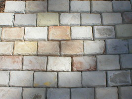 """Paver Molds (36) 4x6x1.5"""" Make 100s Concrete Cobblestone Wall, Patio Pavers @.05 image 2"""