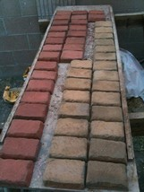 "Paver Molds (36) 4x6x1.5"" Make 100s Concrete Cobblestone Wall, Patio Pavers $.05 image 3"