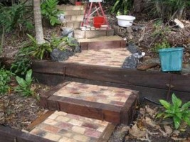 "Paver Molds (36) 4x6x1.5"" Make 100s Concrete Cobblestone Wall, Patio Pavers $.05 image 4"