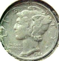 Mercury Dime 1944 XF - $4.84