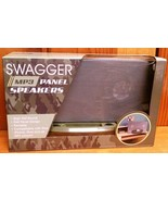NEW NIB Swagger MP3 Camo Camoflaged Panel Speakers - $14.95