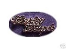 Replica of 1950's SHIRLEY TEMPLE SCRIPT PIN - $12.87