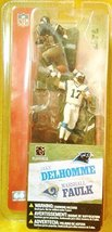 McFARLANE'S SPORTS PICKS NFL Sereis 1 Double Pack JAKE DELHOMME MARSHALL FAULK - $35.99