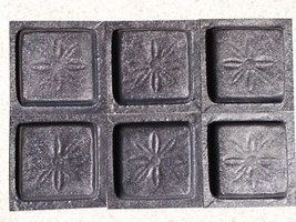 Daisy Pattern Tile Molds (12-4x4) Make 100s Wall Counter Floor Tiles for Pennies image 5