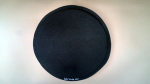 """Round Concrete Steppingstone Mold Makes 100s of 16""""x2.25"""" Stones for Pennies Ea"""