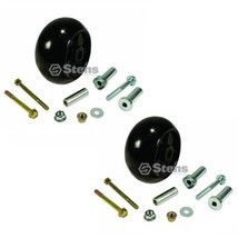 2 Deck Gage Wheel Kits Fit John Deere 717 727 737 757 777 797 997 M653 M... - $42.54