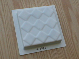 36- 4X4 TILE MOLD LOT MAKES 1000s OF TILES - CHOOSE FROM NINE TILE STYLES! image 2