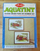Vintage Avalon Aquatint Water Color Paint By Nu... - $29.95