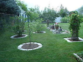 SUPPLIES+ 4 LARGE CONCRETE MOLDS MAKE GARDEN LAWN EDGING - CRAFT RIGHT AT HOME image 4