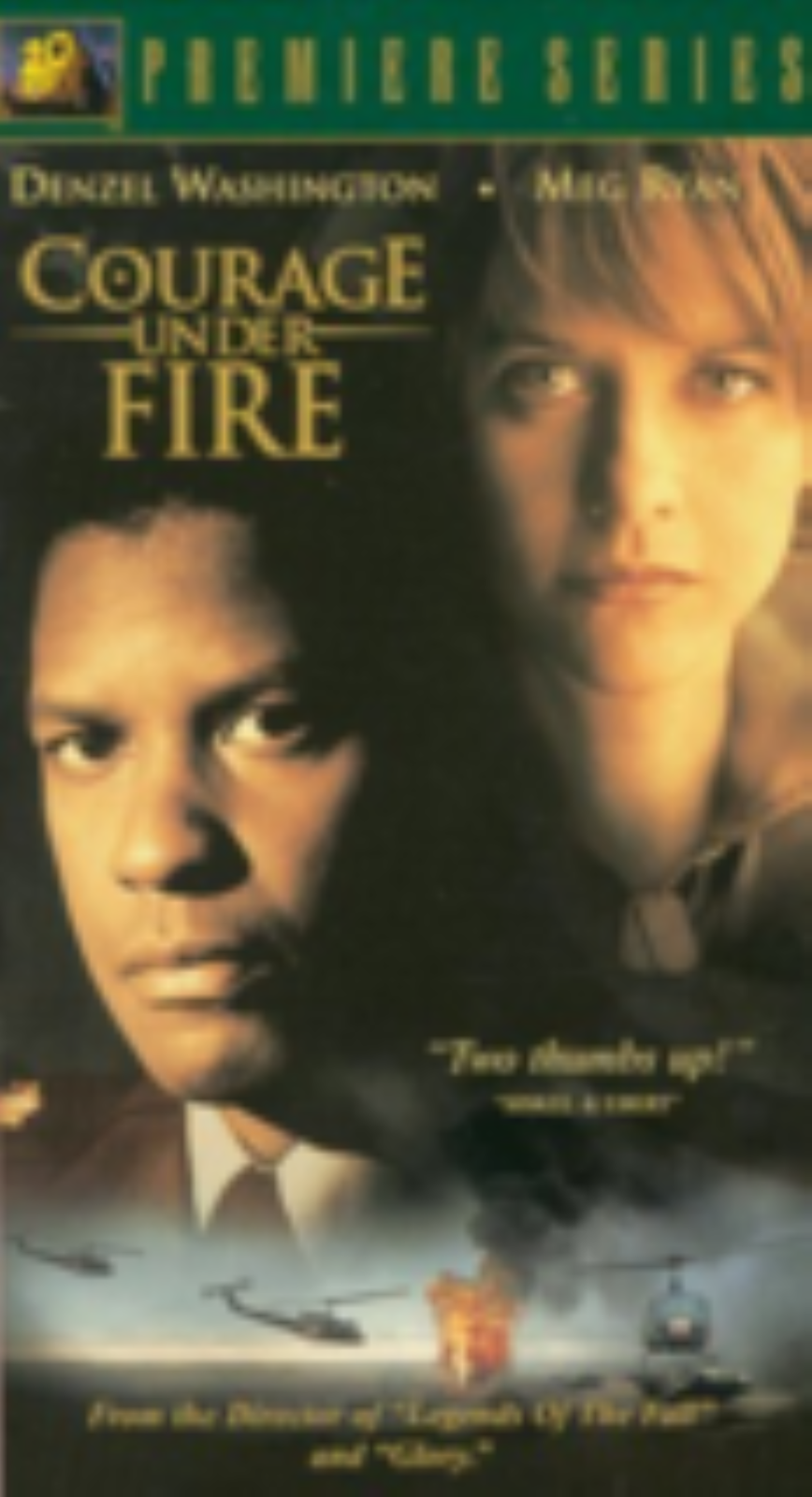 Courage Under Fire Vhs